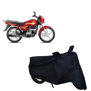 Auto MAX Premium Black-Matty Bike Body Cover For Hero Splendor Plus