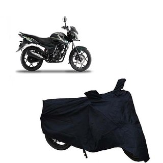 Auto MAX Premium Black-Matty Bike Body Cover For Bajaj Discover 150 s