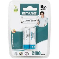 Envie 2100mah 2nos AA Rechargeble Battery