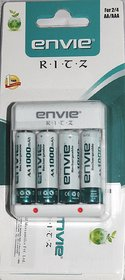 Envie 1000mah 4nos AA Battery  Charger