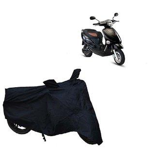 Auto MAX Premium Black-Matty Bike Body Cover For Hero Electric Bikes Electric Photon