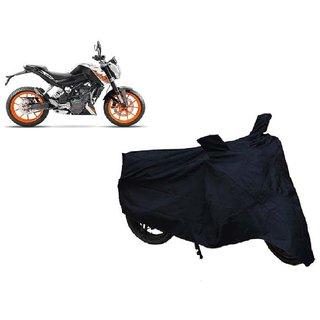 Auto MAX Premium Black-Matty Bike Body Cover For KTM 390 Duke ABS