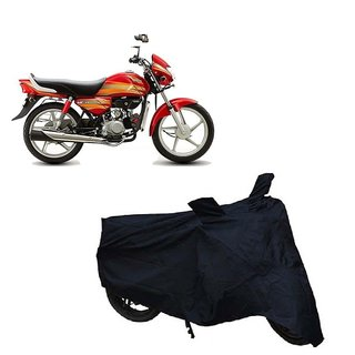 Auto MAX Premium Black-Matty Bike Body Cover For Hero HF Deluxe