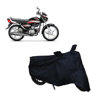 Auto MAX Premium Black-Matty Bike Body Cover For Hero HF Deluxe Eco