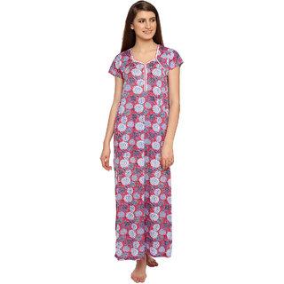Dhir Fashion Multicolor Cotton Lycra Nighty