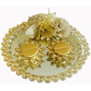 Golden Classic Collection Wedding /Engagement Ring Platter