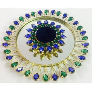 Little Blue Wedding /Engagement Ring Platter/Holder With Single Ring Holder