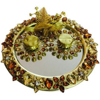 Copper & Gold Wedding/ Engagement Ring Platter