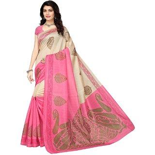 47e936d9235801 Buy Indian Beauty Kora Cotton Silk Saree With Blouse Piece (PinkFree ...