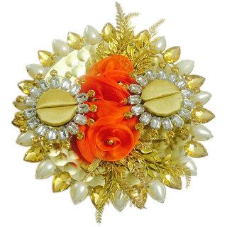 Orange Rose Pearl Wedding /Engagement Ring Platter