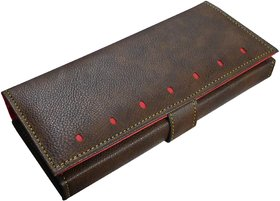 Sn Louis Brown Women Wallet 091