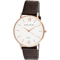 Nucleus Analog Unisex Watch For Formal & Casual Wear LR