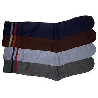 Towel Sports Socks - Pack of Four Pairs