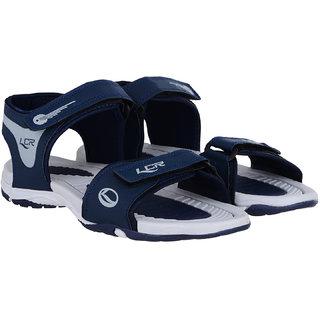 Lancer Navy Blue Grey Sandals