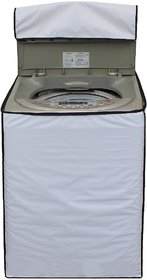 Glassiano White Colored Washing Machine Cover For IFB TL- RDS6.5 Aqua Fully Automatic Top Load 6.5 Kg