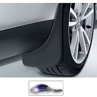 Uneestore-Maruti Suzuki Stingray-Mud Flaps O.E Type Set Of 4 Pcs With Free Car Shaped Led Key Chain