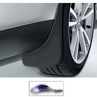 Uneestore- Skoda Yetti-Mud Flaps O.E Type Set Of 4 Pcs With Free Car Shaped Led Key Chain