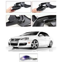 Uneestore- Volksvagen New Jetta-Mud Flaps O.E Type Set Of 4 Pcs With Free Car Shaped Led Key Chain