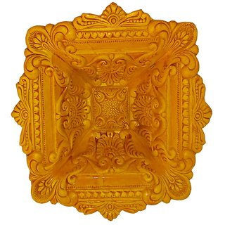 Craft Art India Handmade Earthen Clay / Terracotta Decorative Dipawali / Diwali Diya / Tealight / Oil Lamps for Pooja / Puja , Size (CM) 5 x 17 x 17