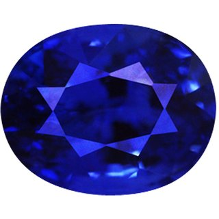 Jaipurforyou certified blue sapphire(Neelam) approx 3.80 cts or 4.25 ratti Super Deluxe quality gemstone