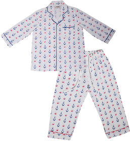 GiggleBuns Cotton Night Suit Set for baby boys sleepwear for kids- 0-3Months