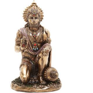 Shivika Enterprises Idol Of Lord Hanuman  Bajrangbali For House Dcor Power Shakti/Gifts/Diwali Gifts/House Warming/Wedding Gift