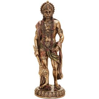 Shivika Enterprises Idol Of Lord Hanuman God Of Power Shakti For House Dcor/Gifts/Diwali Gifts/House Warming/Wedding Gift