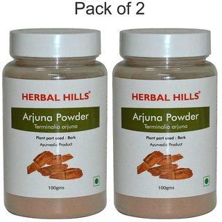 Herbal Hills Arjuna Powder - 100 gms - Pack of 2