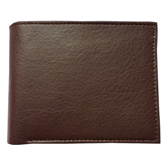 Vegan PU Leather Brown Wallet (Synthetic leather/Rexine)