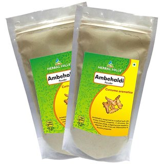 Herbal Hills Ambehaldi Powder - 100 gms - Pack of 2