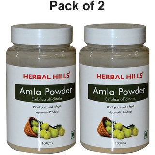 Herbal Hills Amla Powder - 100 gms - Pack of 2