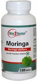 Way2Herbal Moringa 120 Tablets