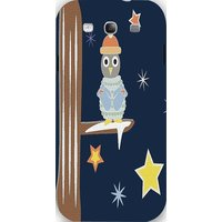 Snoogg Christmas Snow 2468 Case Cover For Samsung Galaxy S3
