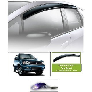 Uneestore-Safari Rain /Wind/Door Visor Set Of 6 Pcs