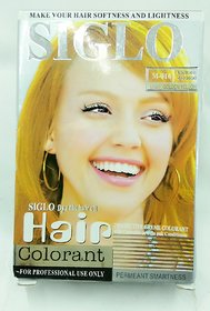 Siglo Hair Color Shade Light Golden Yellow