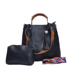 IFH Black Handbag And Sling Bag Combo