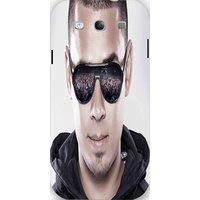 Snoogg Afrojack Face Front 2908 Case Cover For Samsung Galaxy S3