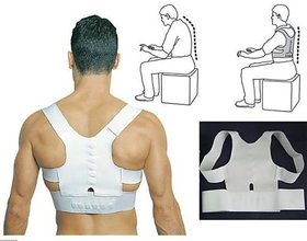New Magnetic Therapy Posture Back Shoulder Corrector Support Brace Belt
