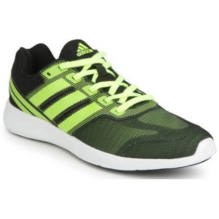 Adidas MenS Black Running Shoes