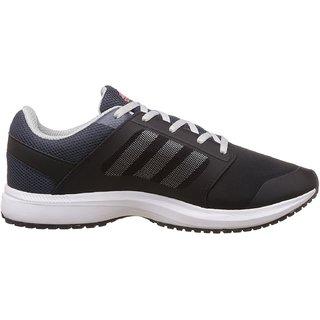 Adidas MenS Black Running Shoes