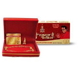QPO original Siddh sri hanuman chalisa yantra with gold plated chain