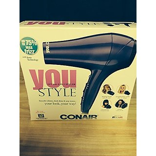 CONAIR 290TG 1875w Full Size 4 In 1 Styling System
