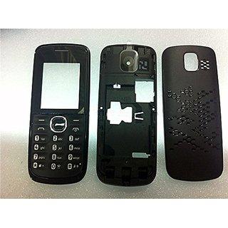Full Body Housing Panel For Nokia 110 Black