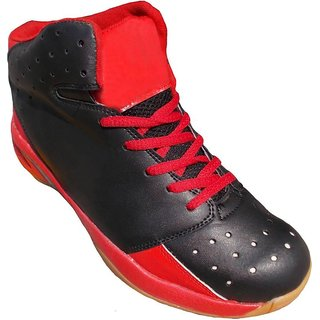 port red running shoes