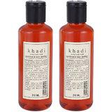 Khadi Sandalwood & Honey Soothing Herbal Body Wash (Twin Pack) (420 Ml)