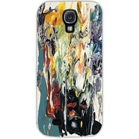 Snoogg Wall Art Painting Case Cover For Samsung Galaxy S4