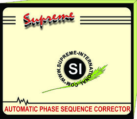 AUTOMATIC PHASE SEQUENCE CORRECTOR FOR 8 TON/ 18 KW / 20HP
