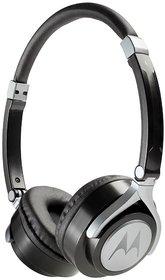Motorola Pulse 2 On Ear Wired Headphone - Black
