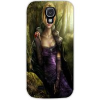 Snoogg Lost In Beauty Case Cover For Samsung Galaxy S4