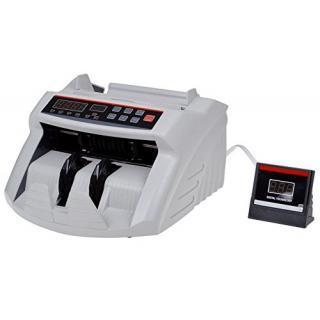 Digital Money Cash Bank Bill Counter Counting Machine Counterfeit Uv Mg Detector